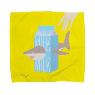 SAME Milk 牛乳サメ Towel handkerchiefs