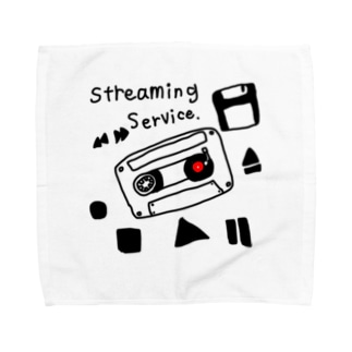 音楽ストリーミングサービスグッズ Towel Handkerchief