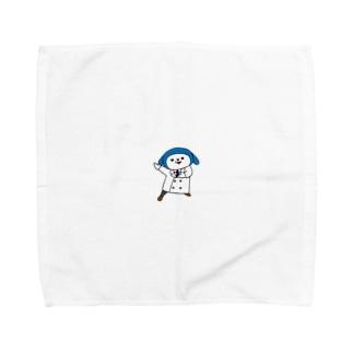 パタン博士「参上!」 Towel handkerchiefs