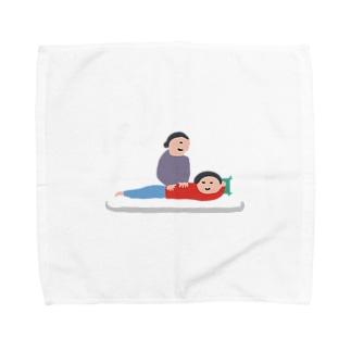 gororigororiのもむ人 Towel handkerchiefs