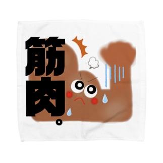 筋肉 Towel handkerchiefs