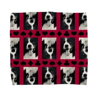 ワンダフルライフ トランプ柄 Towel handkerchiefs
