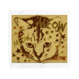 meow BR Towel handkerchiefs