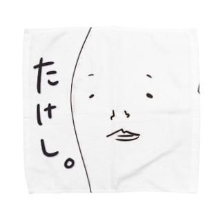 たけし。ハンカチーフ Towel handkerchiefs