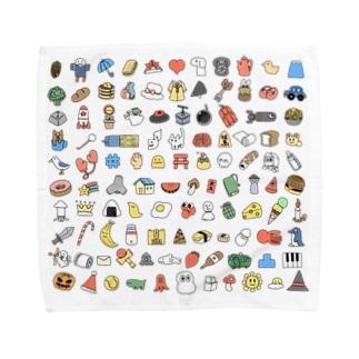 108 Towel handkerchiefs