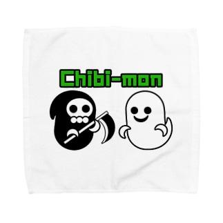 その名はチビモン! Towel handkerchiefs