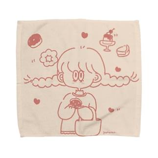 甘いものが食べたい女の子 Towel handkerchiefs