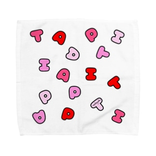 TAPI(赤) Towel handkerchiefs