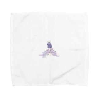 天使ちゃんのタオルハンカチ Towel Handkerchief