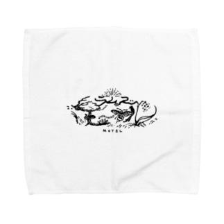 魔女のモーテルのラムズ・モーテル Towel handkerchiefs