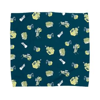 マシーン② Towel handkerchiefs