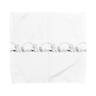 ハニーちゃん られつ Towel handkerchiefs