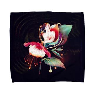 植物少女 Towel handkerchiefs