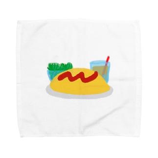 オムライスセット Towel handkerchiefs