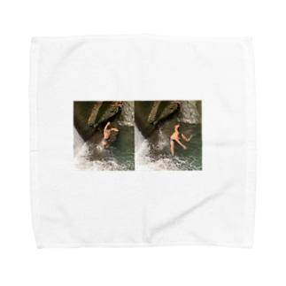 地元ハンカチ Towel handkerchiefs