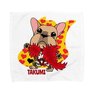 彩羽 匠 takumi irohaのわさイラスト Towel Handkerchief