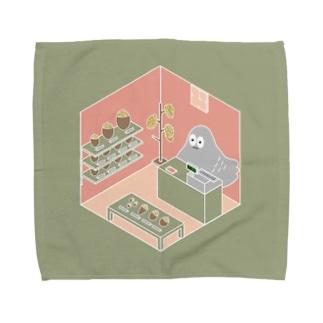 ハトくんのあああ雑貨店 Towel handkerchiefs