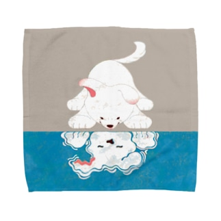 知らない誰かさん Towel handkerchiefs