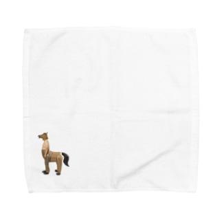 人馬一体 Towel handkerchiefs