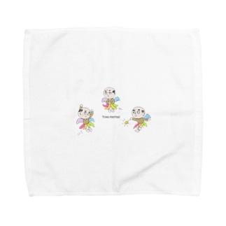 妖精ヨワ・メンタール③ Towel handkerchiefs