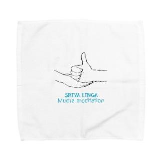 シヴァリンガムドラ瞑想 Towel handkerchiefs