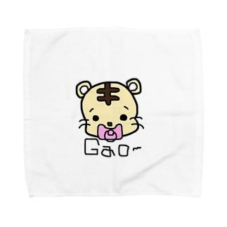 べびとらちゃん Towel handkerchiefs