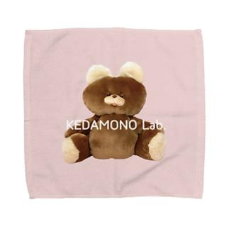 むくみちゃんタオルハンカチPink Towel handkerchiefs