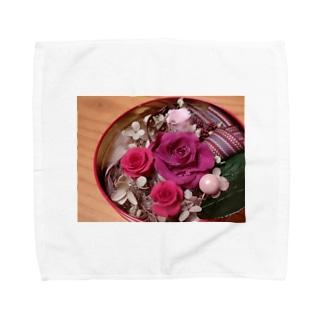 プリザーブドフラワー Towel handkerchiefs