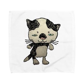 ブネコ1 Towel handkerchiefs