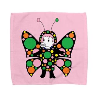 スワロウテイルブタフライ(ハンカチ版) Towel handkerchiefs