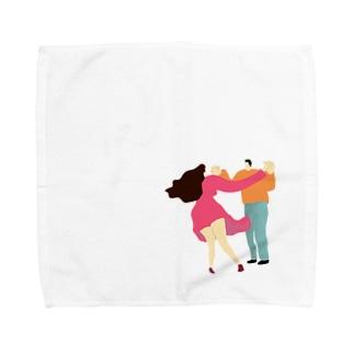 ダンスwith Towel handkerchiefs