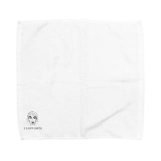 I LOVE GOTO Towel handkerchiefs