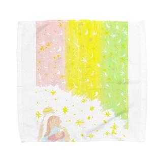 聖母の愛 Towel handkerchiefs