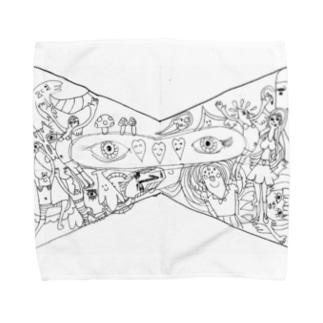カオスなリボン Towel handkerchiefs