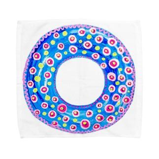 しあわせの浮き輪 Towel handkerchiefs