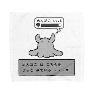 ゲーム風めんだこちゃん Towel handkerchiefs