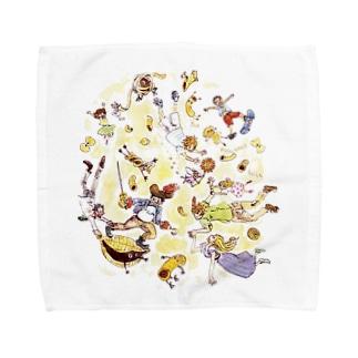 マカロニ戦争 Towel handkerchiefs