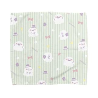 ジェントルなおばけ Towel handkerchiefs