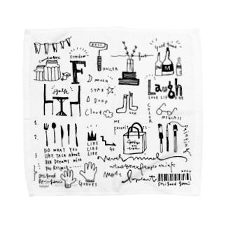 好きなものたち Towel handkerchiefs
