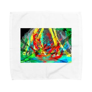 アライブ Towel handkerchiefs