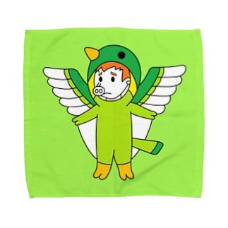 ブタトギス(ハンカチ版) Towel handkerchiefs