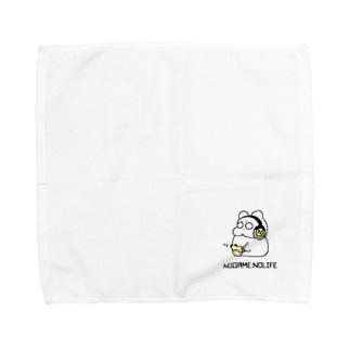 ゲーマーのっぺり Towel handkerchiefs
