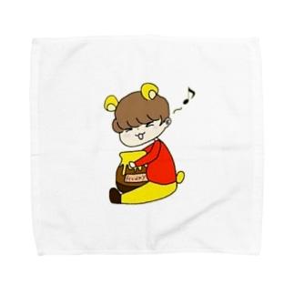 けいプー Towel Handkerchief