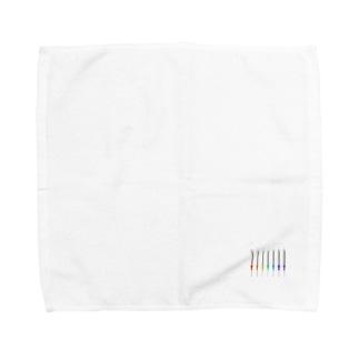 カラフルな注射 Towel handkerchiefs