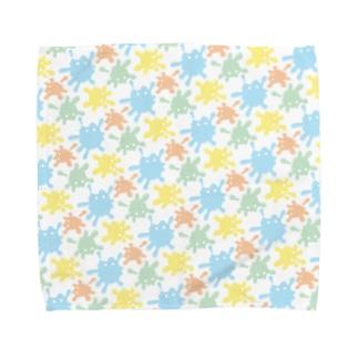 絵の具ちゃん Towel handkerchiefs