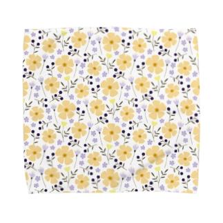 Joy(yellow) タオルハンカチ