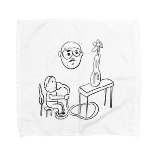 ガスもれ Towel handkerchiefs