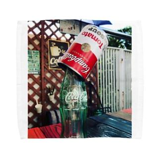 Campbell Coke Towel handkerchiefs
