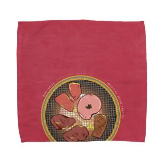 七輪ハンドタオル Towel handkerchiefs
