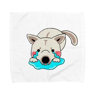 反省してますワサビちゃん Towel handkerchiefs